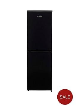 hoover-hvbf5182bk-55cm-frost-free-fridge-freezer-black