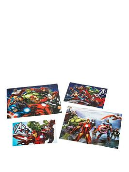 the-avengers-avengers-4-pack-super-3d-puzzle