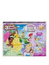Disney Princess 3 Wood Puzzle