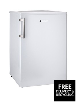 hoover-hvtl542whk-55cmnbspunder-counter-larder-fridge-with-external-handle-white