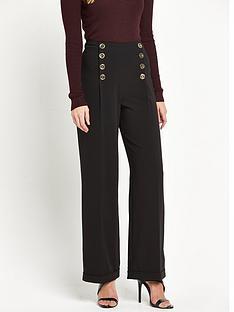 miss-selfridge-miss-selfridge-black-high-waisted-wide-leg-trouser