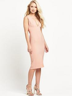 miss-selfridge-bodycon-plunge-dressnbsp