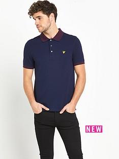 lyle-scott-fairisle-collar-polo-shirt