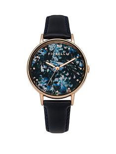 fiorelli-blue-floral-dial-with-navy-leather-strap-ladies-watch