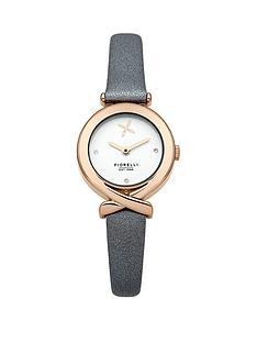 fiorelli-white-dial-grey-leather-strap-ladies-watch