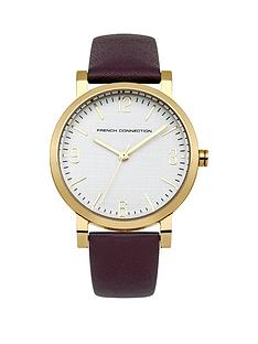 french-connection-catherine-white-dial-with-purple-leather-strap-ladies-watch