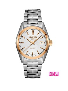 roamer-white-dial-searock-classic-silver-tone-stainless-steel-bracelet-ladies-watch