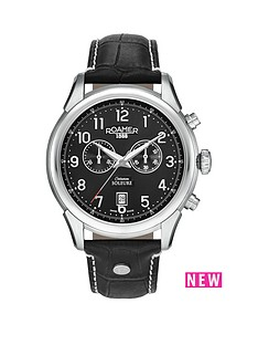 roamer-chronograph-black-dial-soleure-black-leather-strap-mens-watch