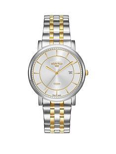 roamer-roamer-silver-dial-classic-line-two-tone-stainless-steel-bracelet-gents-watch