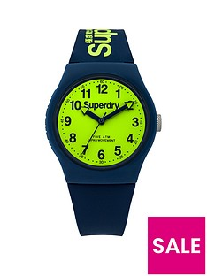 superdry-urban-lime-green-dial-with-navy-silicone-strap-unisex-watch