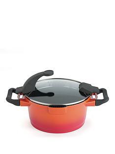 virgo-orange-28-cm-non-stick-casserole-pot