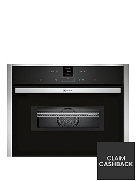 neff-c17mr02n0b-compact-built-in-oven-with-integral-microwave-stainless-steelnbsp