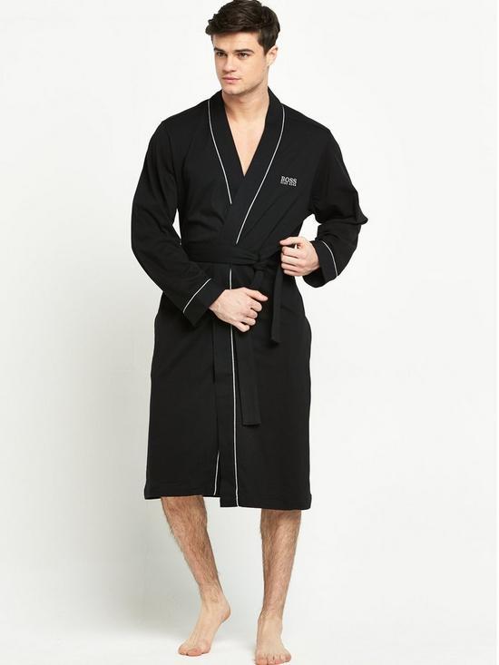 7464b6c00d BOSS Lightweight Robe - Black