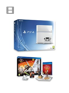 playstation-4-ps4-500gb-white-console-with-disney-infinity-30-star-wars-starter-pack