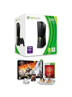 xbox-360-xbox-360-250gb-console-with-disney-infinity-30-star-warstrade-starter-pack