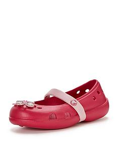 crocs-girls-keeleynbspspringtime-flower-flat-shoes