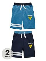 Boys Sweat Shorts (2 Pack)