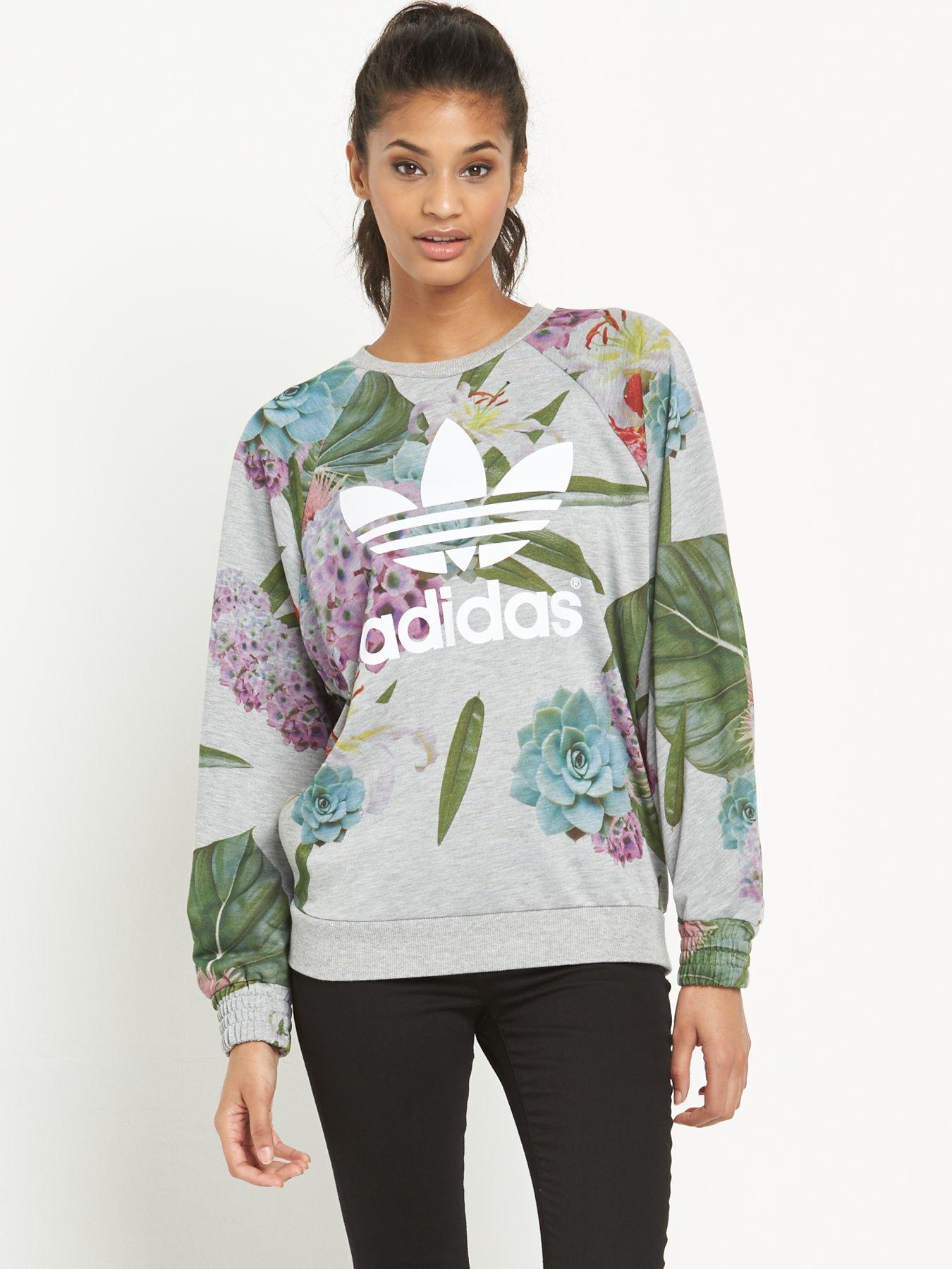 Floral New Sweatshirt gt; White Adidas Free Off35 adidas Shoes Shipping 6pTAxqw