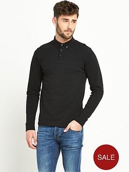 v-by-very-long-sleevenbsppolo-shirt
