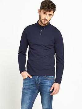 v-by-very-long-sleeve-mens-polo-shirt