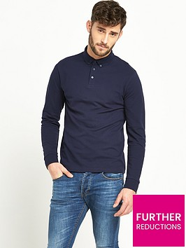 v-by-very-long-sleeve-mens-polo-shirt