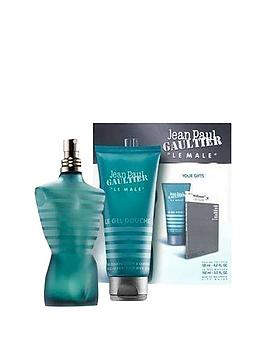 jean-paul-gaultier-le-male-125mlnbspmini-spray-amp-75ml-shower-gel-gift-set