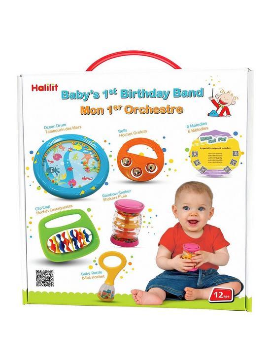 Halilit Babys First Birthday Band