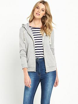 South Zip Through Hooded Top