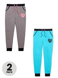 v-by-very-girls-fashion-basics-heart-print-joggers-2-pack