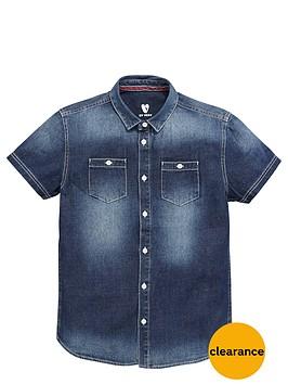 v-by-very-boys-short-sleeve-denim-shirt