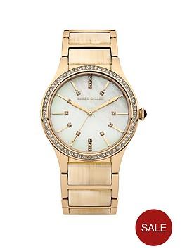 karen-millen-mother-of-pearl-dial-gold-tone-stainless-steel-bracelet-ladies-watch