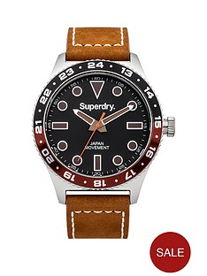 superdry-superdry-retro-sport-black-dial-brown-leather-strap-mens-watch
