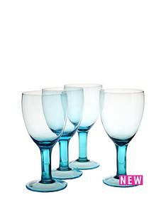 smokey-blue-wine-glasses-set-of-4