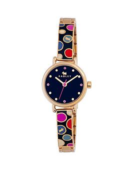 Radley Radley Navy Dial With Spot On Navy Blue Bracelet Ladies Watch