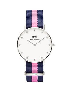 daniel-wellington-daniel-wellington-white-dial-silver-case-with-navypink-nato-strap-ladies-watch