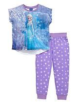 Girls Short Sleeve Elsa Pyjamas