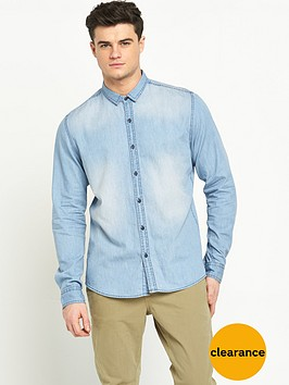 only-sons-mens-denim-shirt
