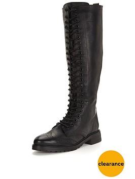 shoe-box-nightingdale-lace-up-flat-pu-knee-boots