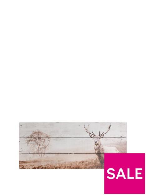 graham-brown-stag-wall-art-on-fir-wood