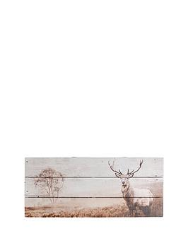 graham-brown-stag-wall-art-on-fir-wood