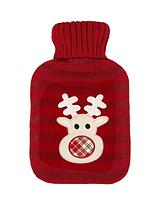 Hot Water Bottle and Rudolph Cosy Set