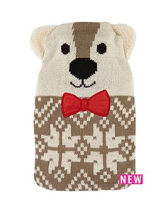kids-hot-water-bottle-and-polar-bear-shaped-cosy-set