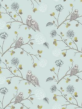 arthouse-night-owl-duck-egg-wallpaper