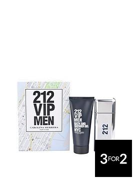 carolina-herrera-212-vip-men-100ml-edt-and-100ml-shower-gel-gift-set
