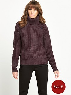 g-star-raw-chunky-roll-neck-jumper