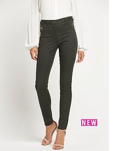 wallis-wallis-tinseltown-side-zip-trouser