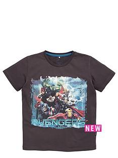 character-avengers-team-print-tee