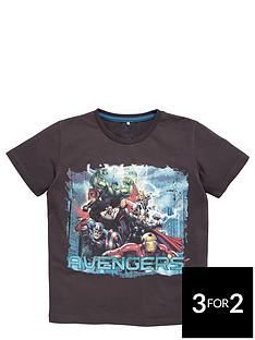 marvel-avengers-team-print-tee