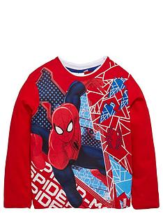 spiderman-boys-red-long-sleeve-t-shirt