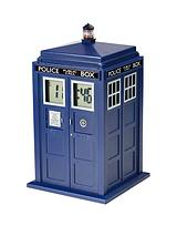 DR WHO TARDIS PROJECTOR ALARM CLOCK